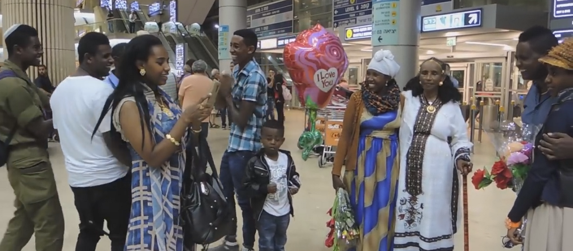 Aliyah resumes as first group of Jewish Ethiopians arrive in Israel
