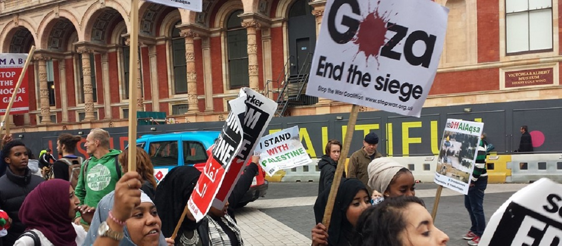 "Outrage as pro-Palestinian students in London host discussion on ""Decoupling Judaism and Zionism"""