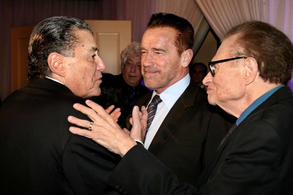 Arnold Schwarzenegger (FIDF Facebook)