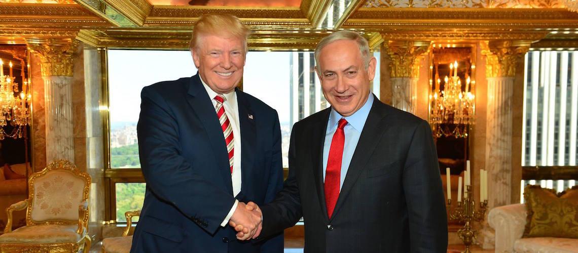 """Netanyahu congratulates Trump calling him a """"true friend"""" of Israel"""