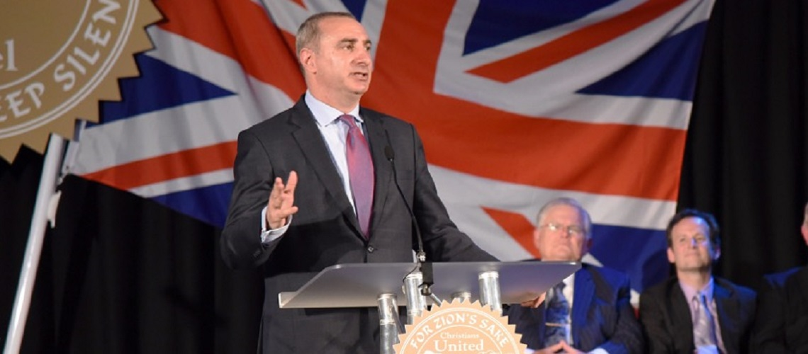 Israel's deputy UK ambassador, Eitan Na'eh, appointed as Turkey envoy