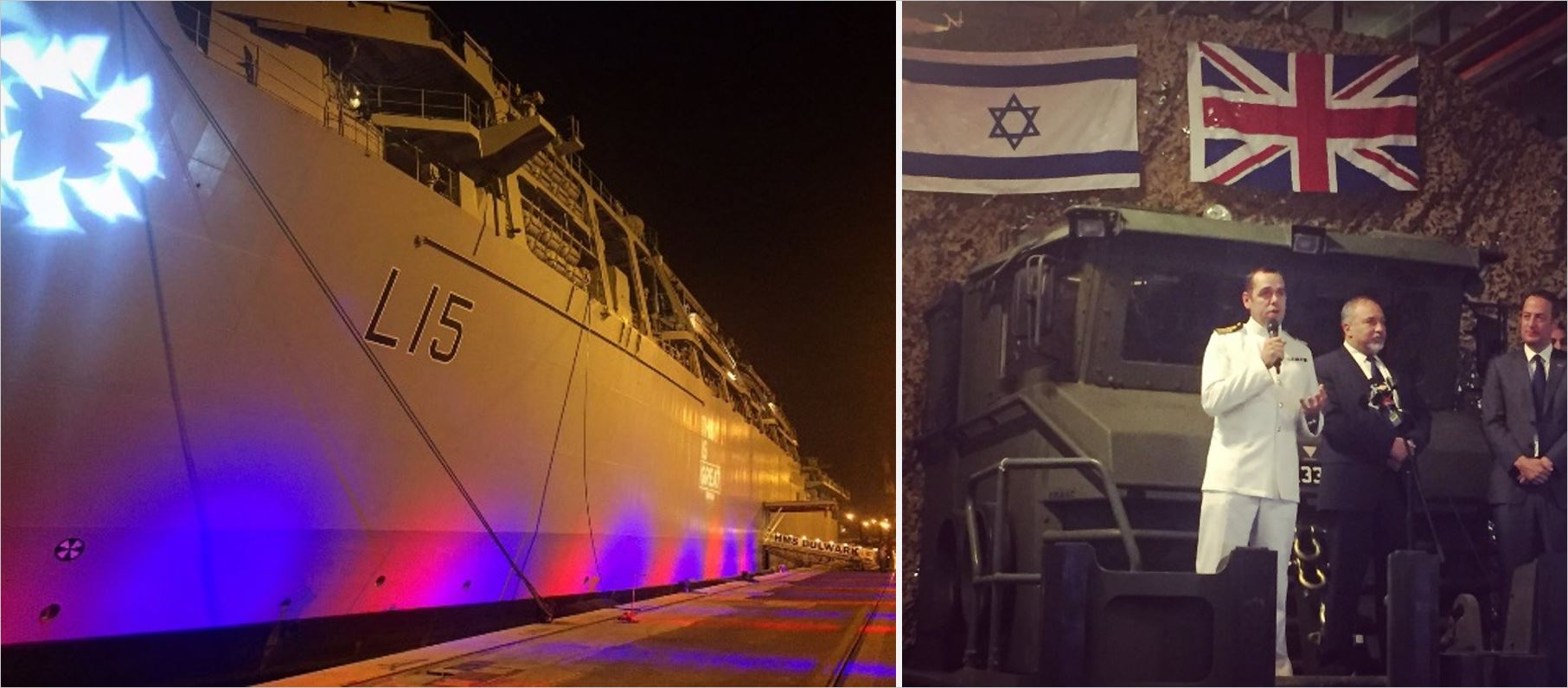 HMS Bulwark docks in Haifa, proclaiming strength of UK-Israel defence ties