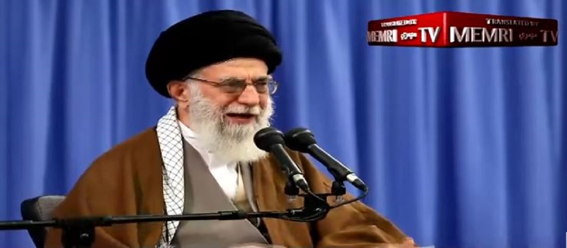 "Latest chilling video of Iranian Supreme Leader's speech receives ""Death to America, Israel, England"" chants"
