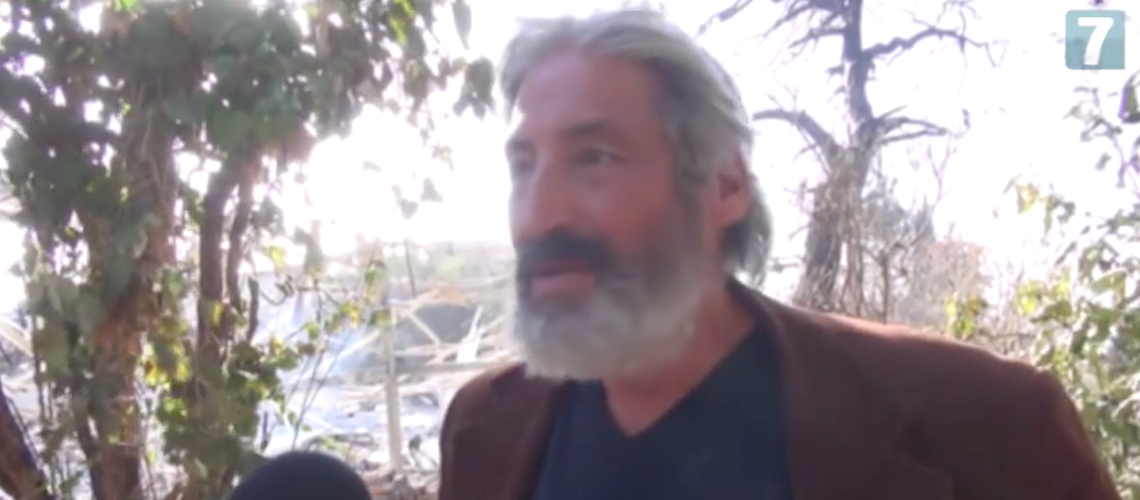 Video: Israeli artist lost 40 years of work in fires set by terrorists