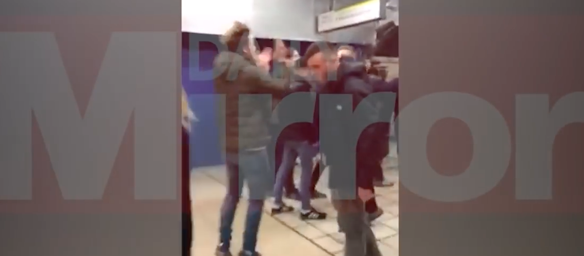 Chelsea football fans sing anti-Semitic songs on London tube