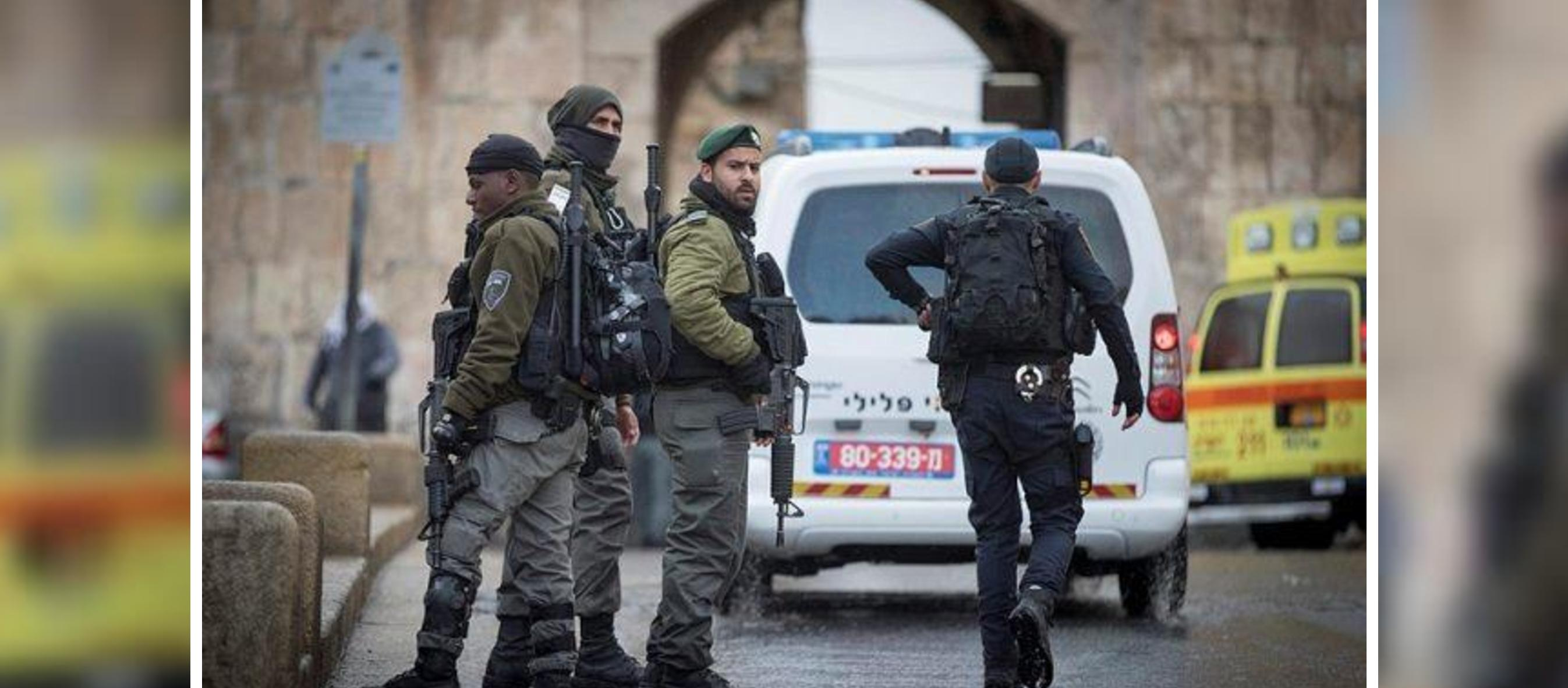 Palestinian terrorist stabs Israeli officer in Jerusalem attack