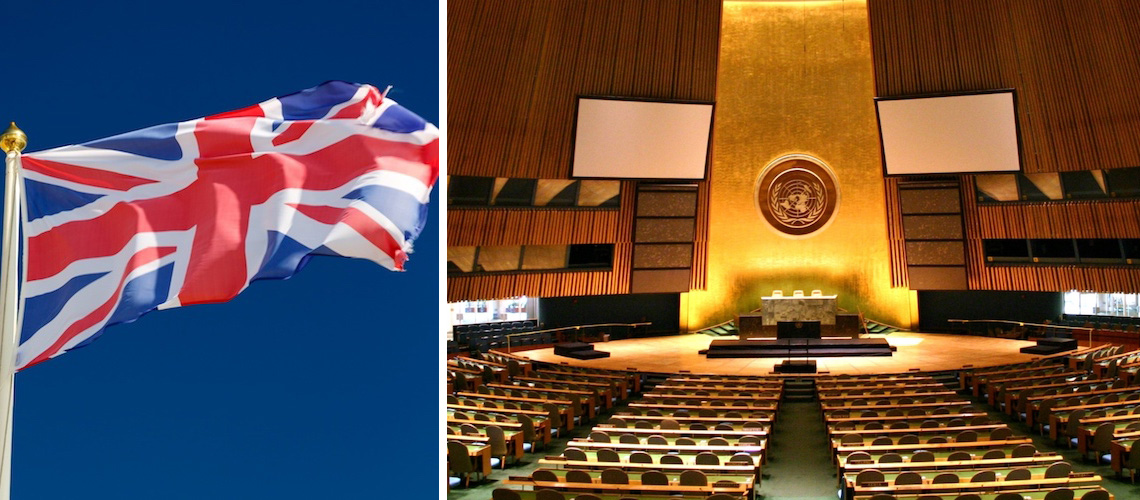 The UK has just voted AGAINST Israel at the UN