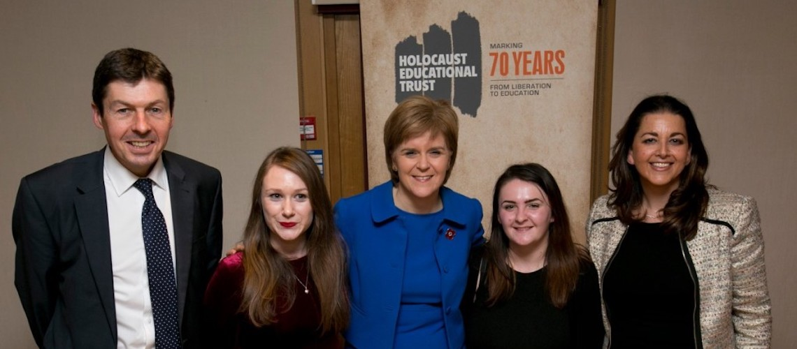 "Scottish government pledges continued funding for ""Lessons from Auschwitz"" project"