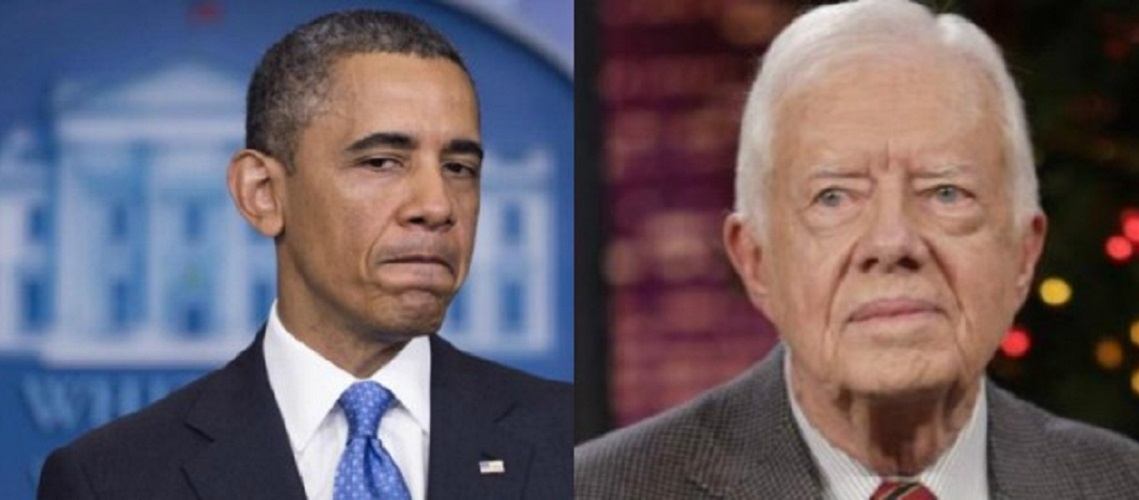 Jimmy Carter to Obama: Recognise 'Palestine' before end of term
