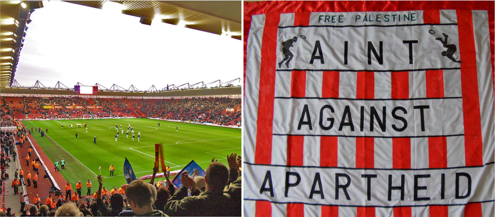 Anti-Israel activists planning protest at tonight's Southampton football match