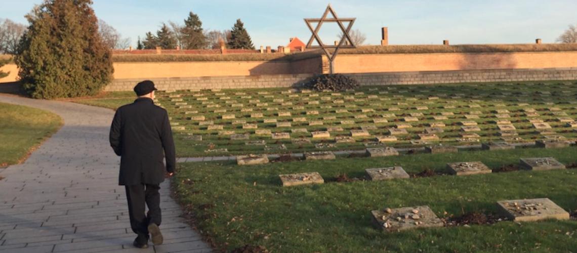 Jeremy Corbyn visits former Nazi death camp in Czech Republic