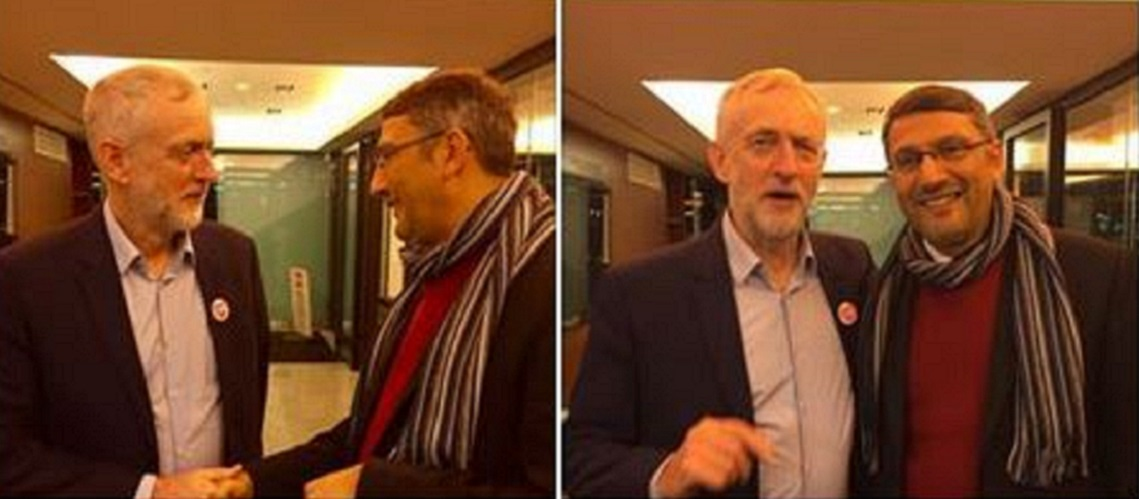Jeremy Corbyn accused of attending anti-Israel event