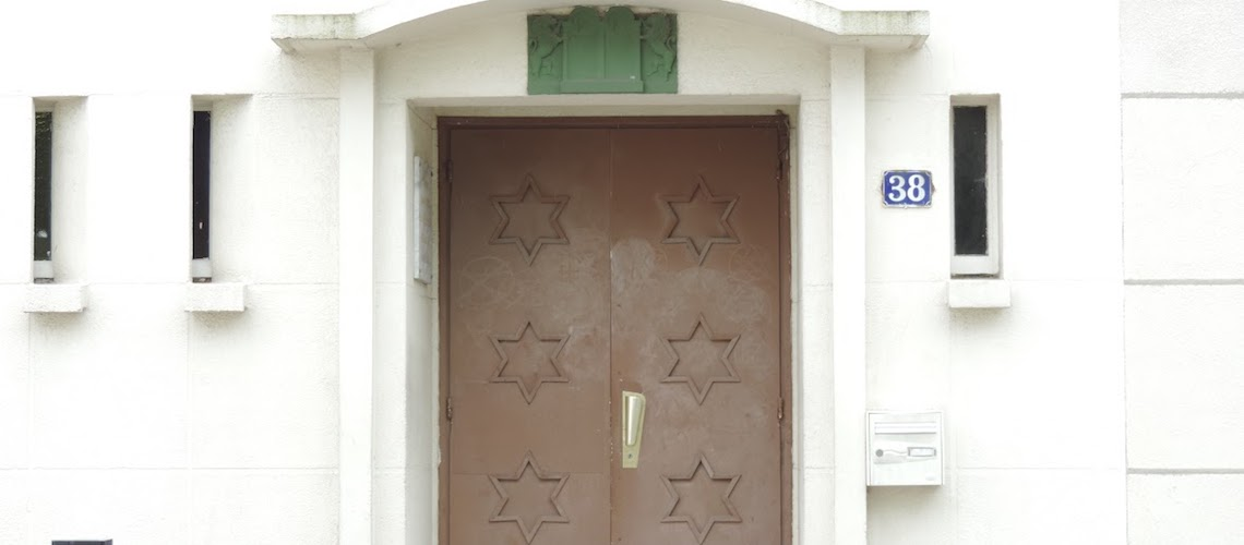 Bullets placed in mailbox and outside French synagogue twice in one week