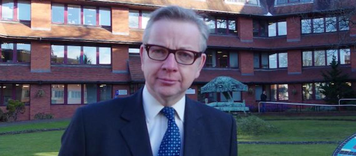 Gove: Move embassy to Jerusalem, send the Queen to open it