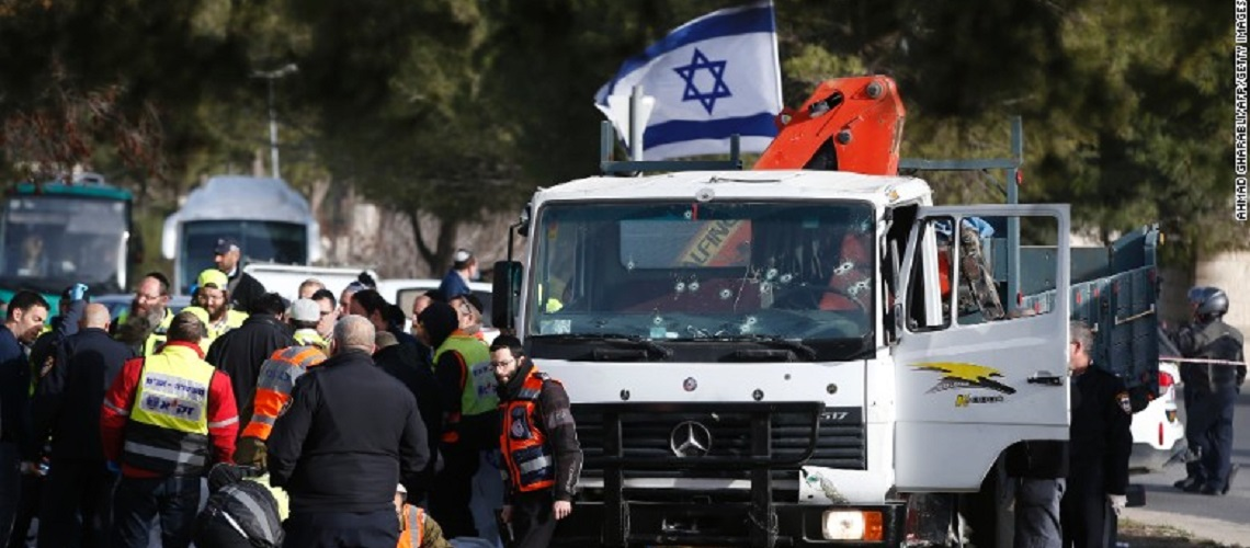 "Shocking BBC coverage of Jerusalem terror attack describes ""shooting of truck driver"""