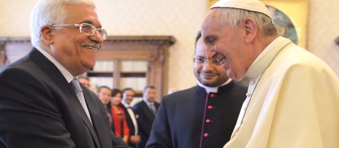 BREAKING: Vatican opens Palestinian embassy ahead of critical summit in Paris