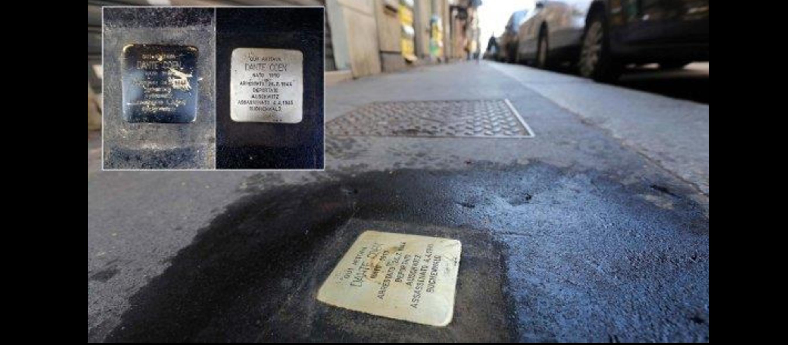Vandals deface new Milan Holocaust memorial