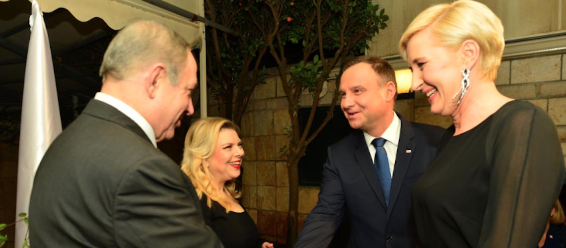 Poland President praises Israel, says Jews safer in Poland than Western Europe