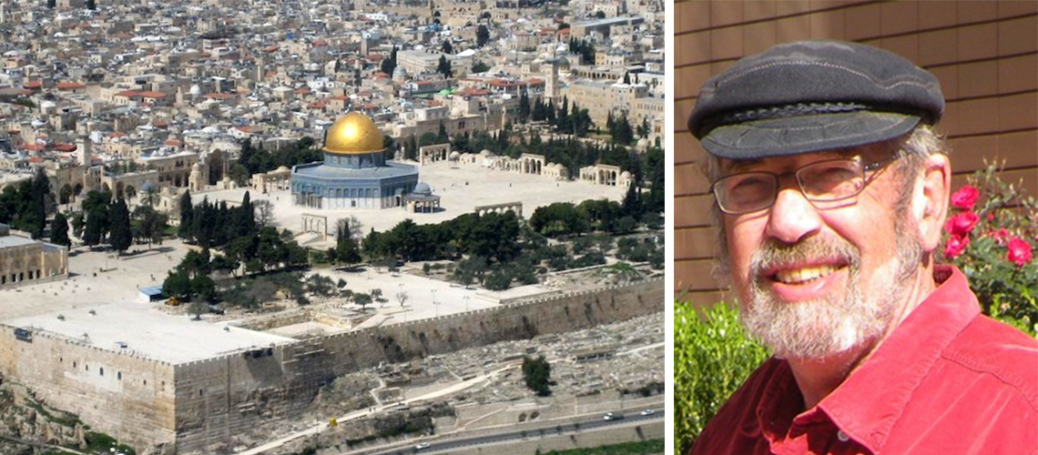 "Jewish guide banned from saying  ""Temple Mount""… on the Temple Mount"