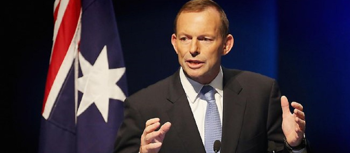 Former Australian PM, Tony Abbott, calls for cutting Palestinian aid cut AND embassy relocation to Jerusalem