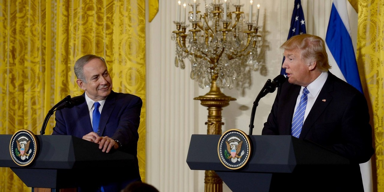 "Netanyahu: ""We stand fully by the United States in its just battle for security, peace and self-defense."""