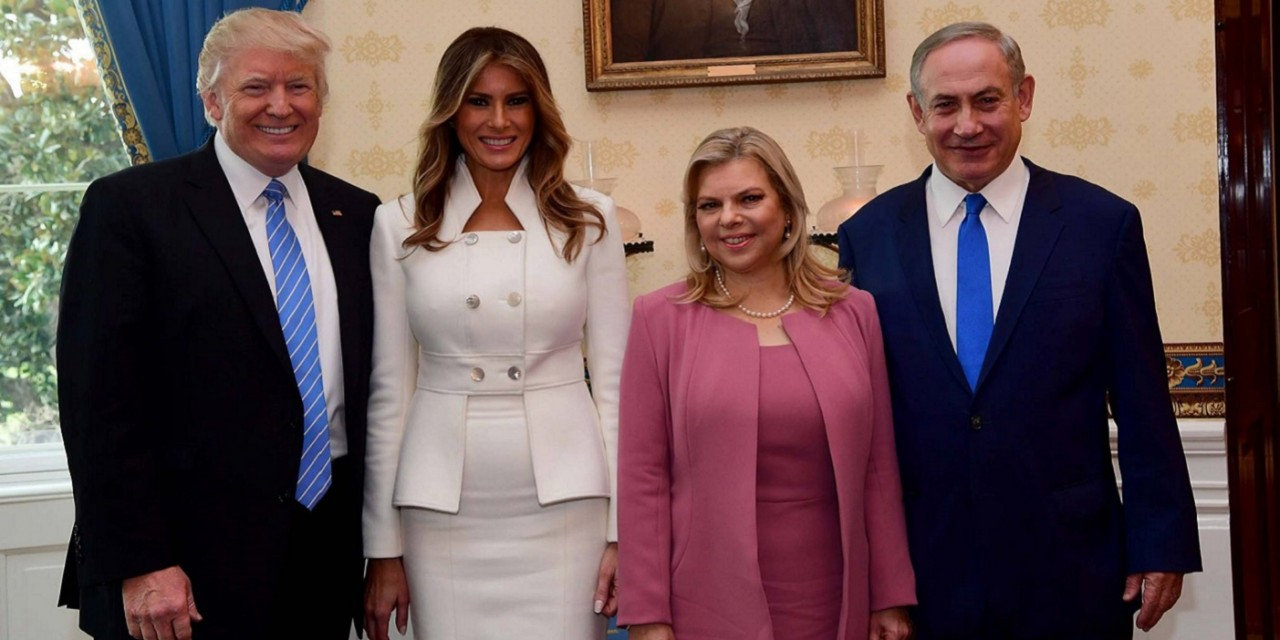 IN PICTURES: PM Netanyahu and wife Sara visit the White House