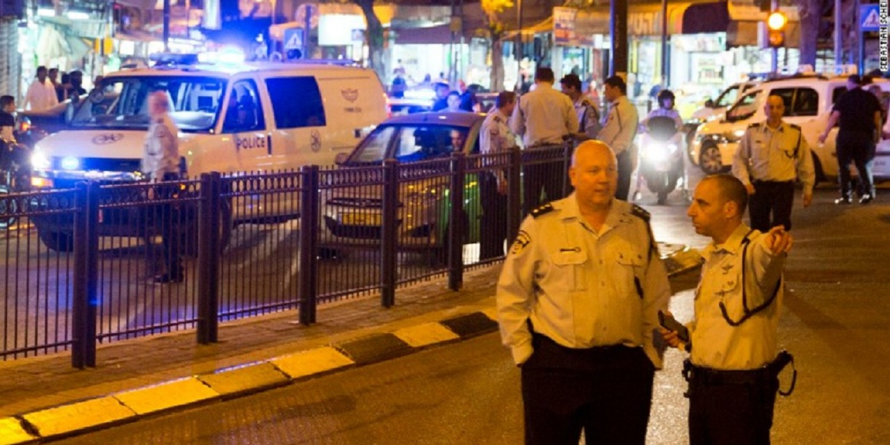 Terrorist shoots and stabs 6 in market of Tel Aviv suburb