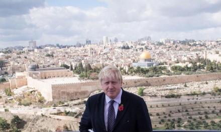 "Boris says he's a ""passionate Zionist"" and will ""constrain Iran's aggressive behaviour"" as PM"