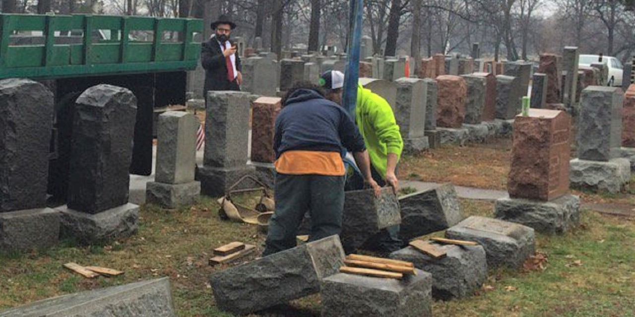 Local church raises funds to restore vandalised Jewish cemetery