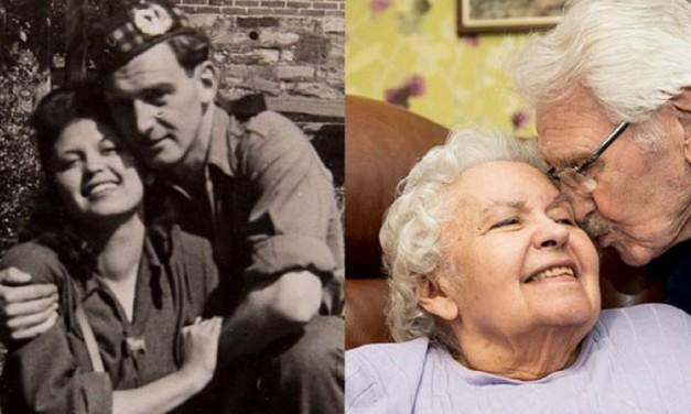 Auschwitz survivor and soldier who rescued her celebrate 71st Valentine's Day together