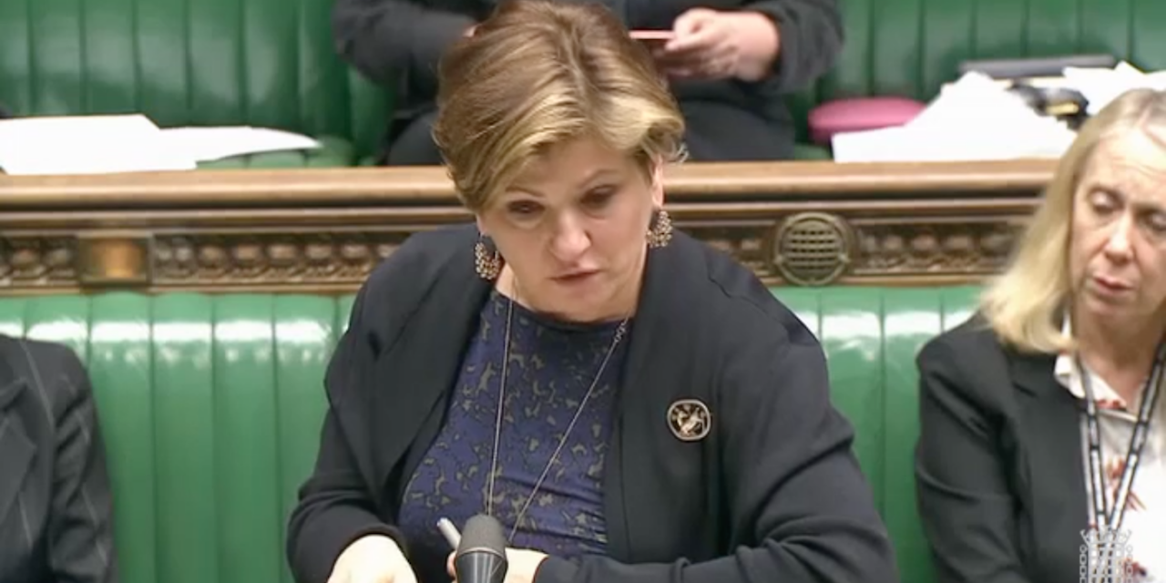 "Emily Thornberry: Best way to mark Balfour anniversary is ""to recognise Palestine"""