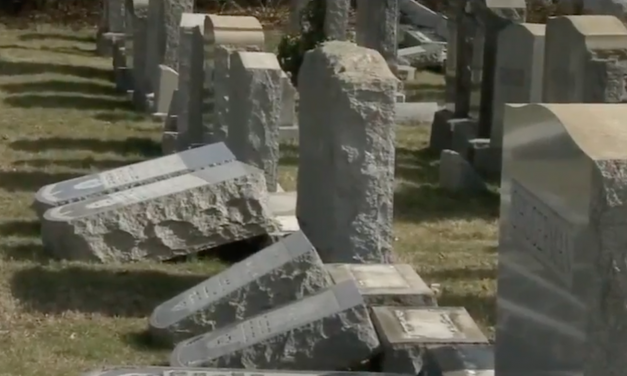 Another Jewish Cemetery vandalised, over 100 headstones damaged in Philadelphia