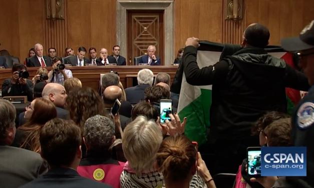 Anti-Israel protesters interrupt Senate hearing for Trump's Israel Ambassador nominee