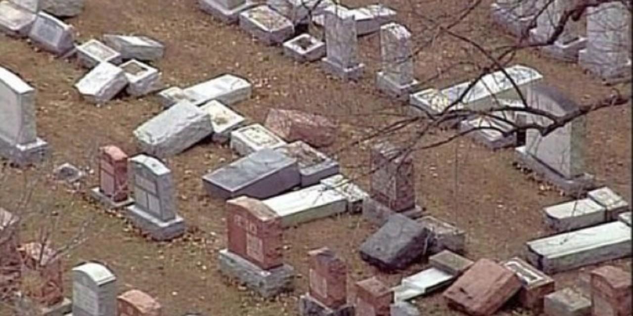 Over 100 Jewish headstones vandalised in St. Louis