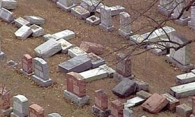 Over 100 Jewish headstones vandalised in St. Louis