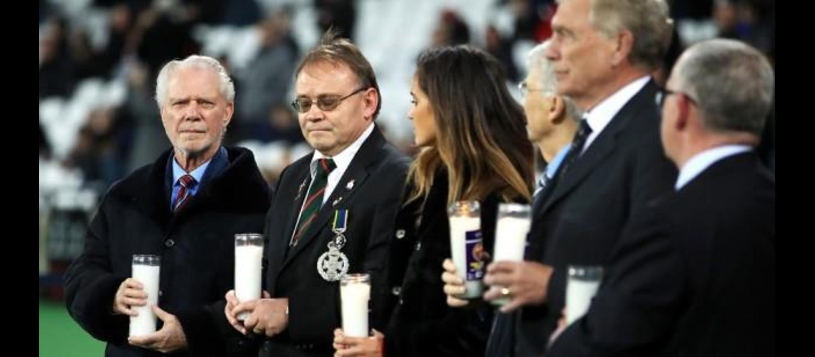 West Ham United commemorates Holocaust before match