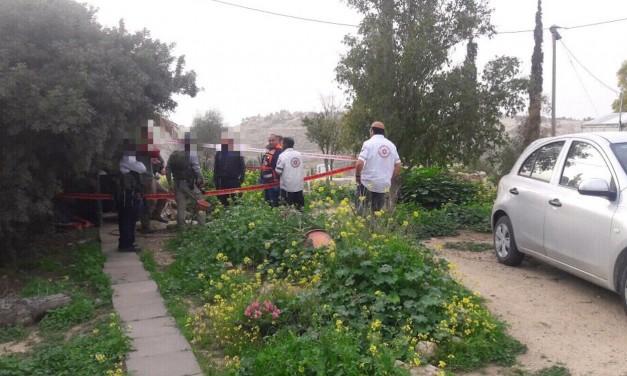 Israeli man stabbed in front of his children, shoots terrorist dead