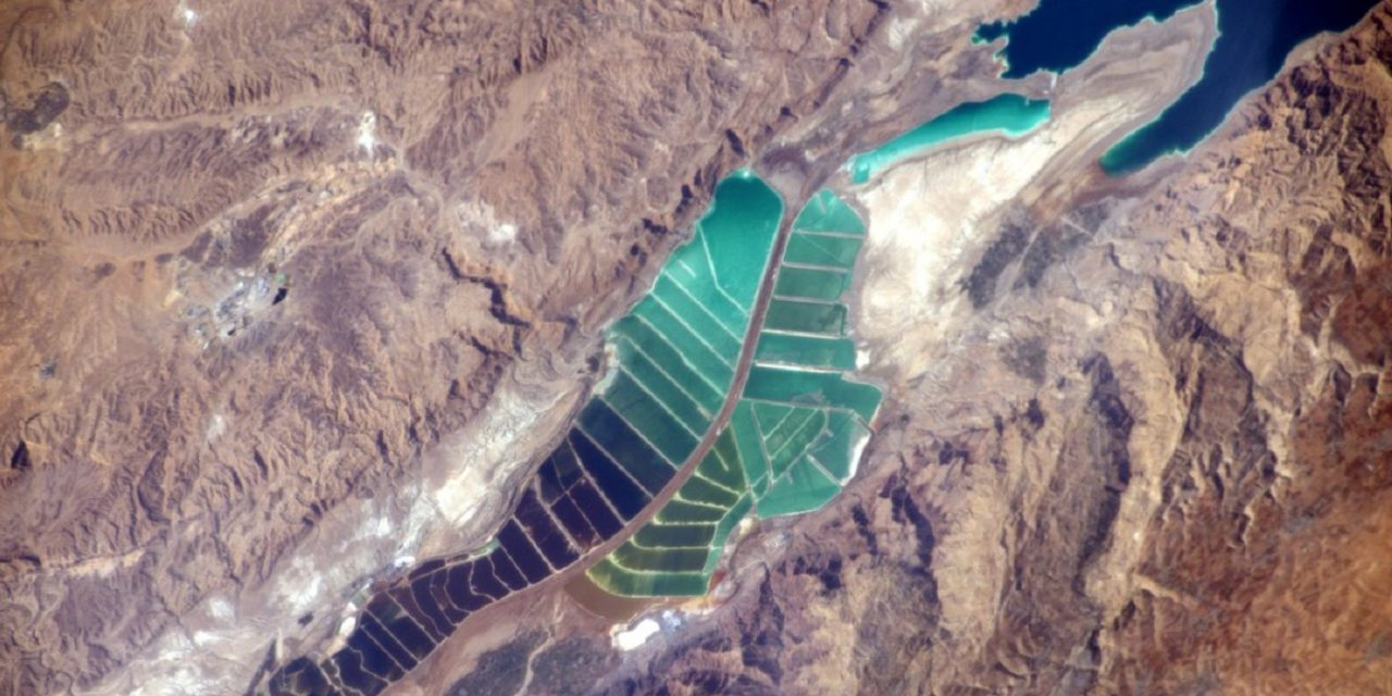 French astronaut's photo shows beauty of the Dead Sea