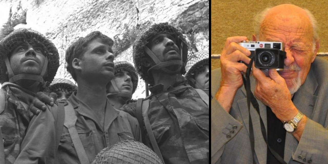 PICTURES: David Rubinger, photographer of some of Israel's most iconic photos, dies
