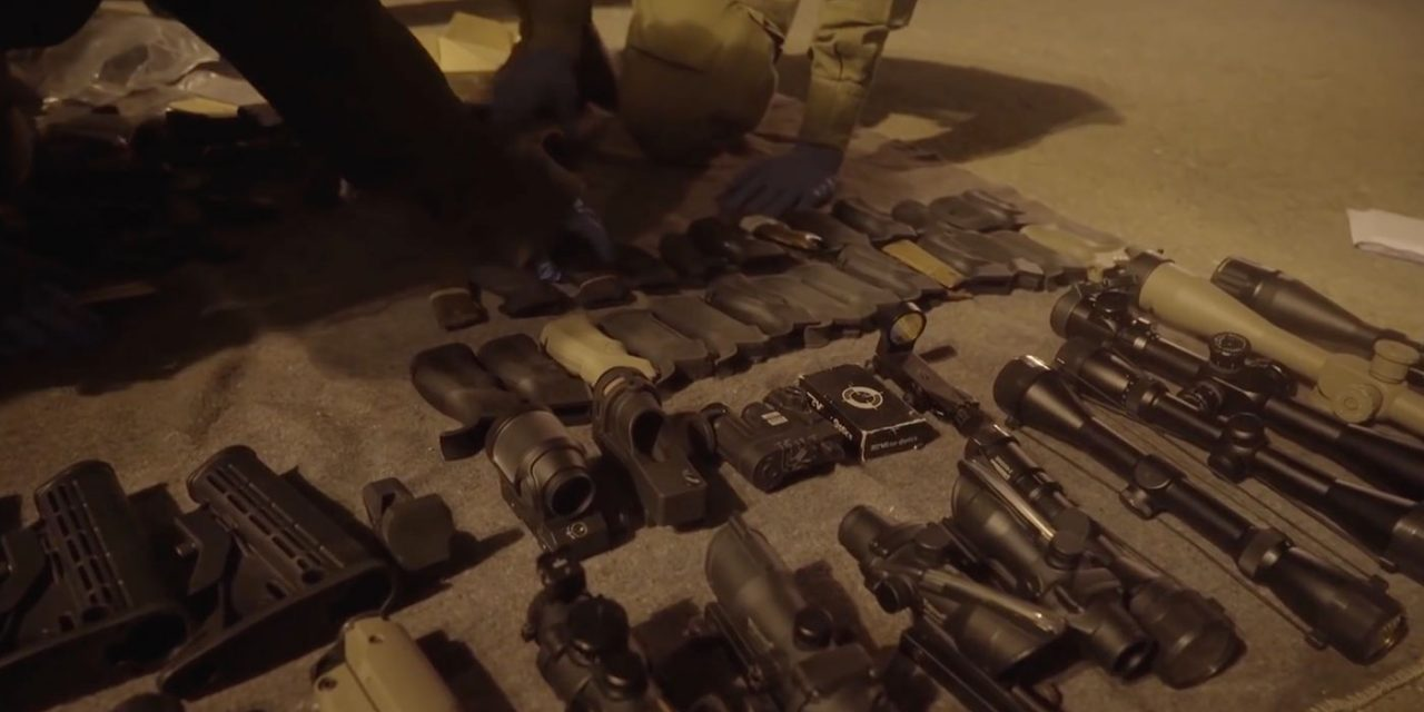 IDF discovers Palestinian arms network, seizes hundreds of weapons