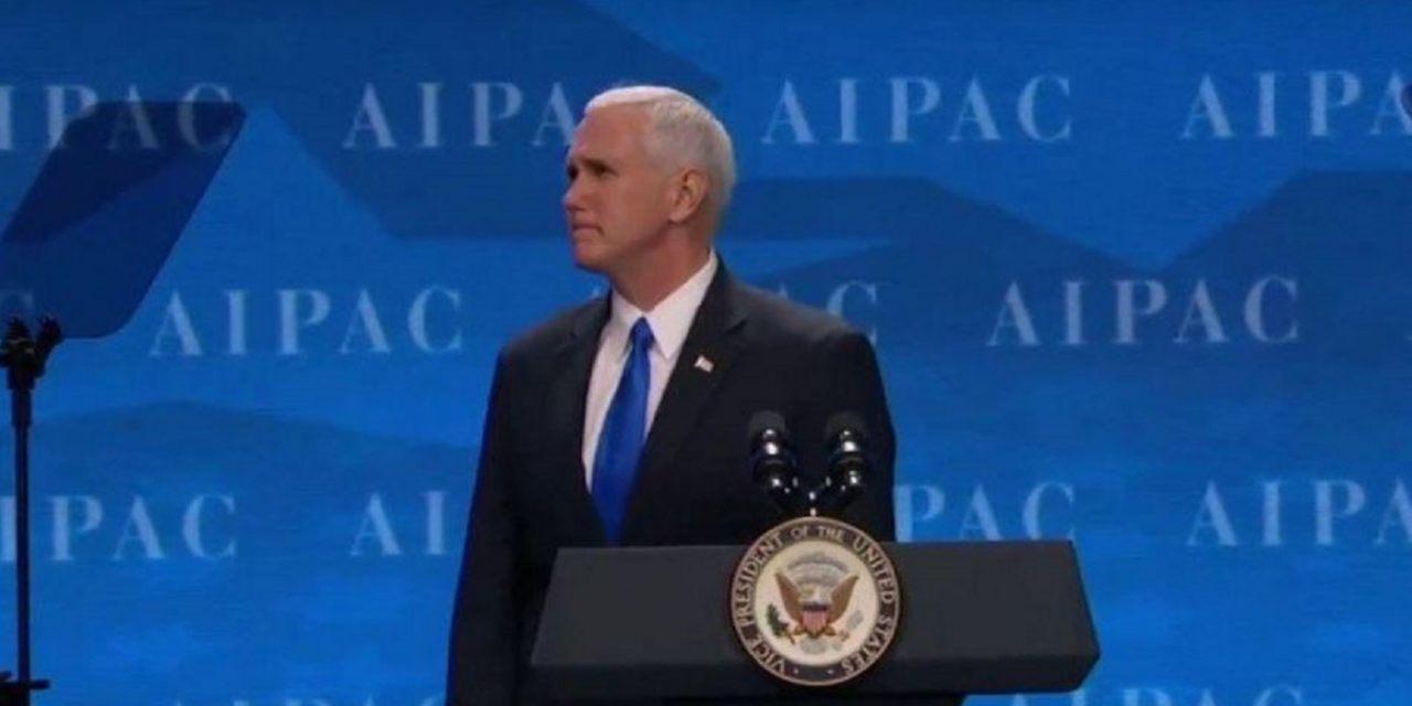 Mike Pence to address Israeli Parliament during Hannukah