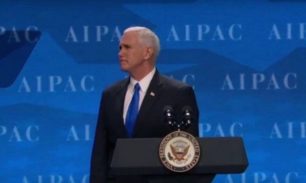 "VP Mike Pence: ""President Trump and I stand without apology for Israel and we always will!"""