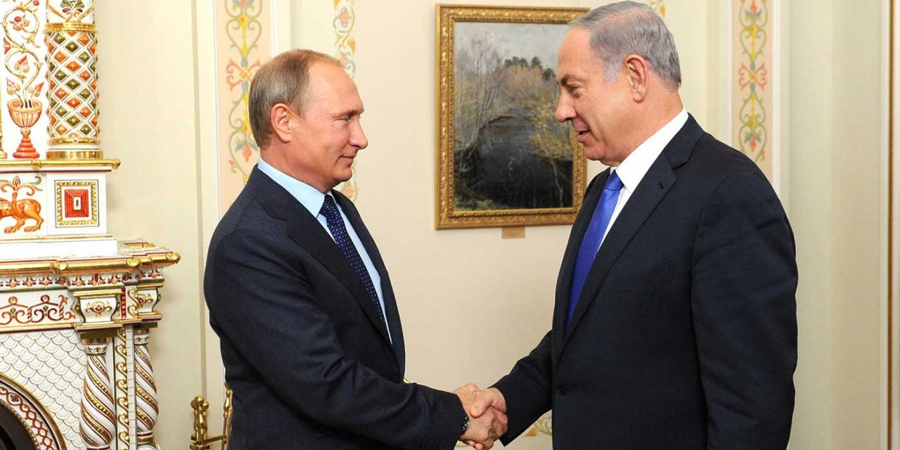 Netanyahu visits Putin to discuss the threat of Iran in Syria