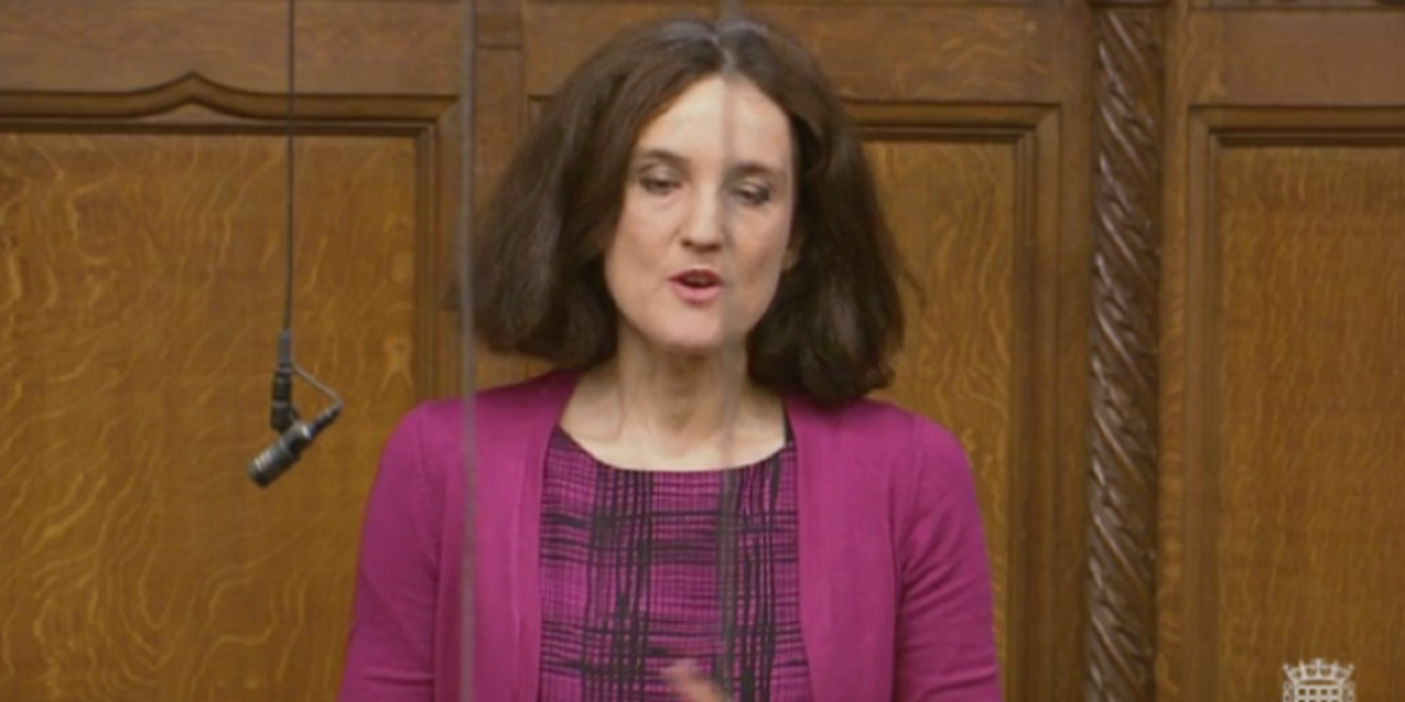"Theresa Villiers MP tells Parliament: ""Israel suffers similar terror to Wednesday's attack"""