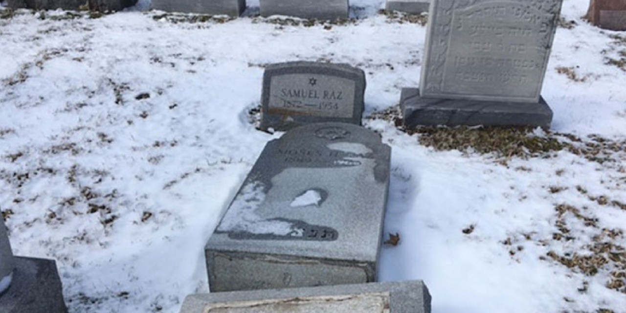 US: Third Jewish cemetery vandalised in less than two weeks