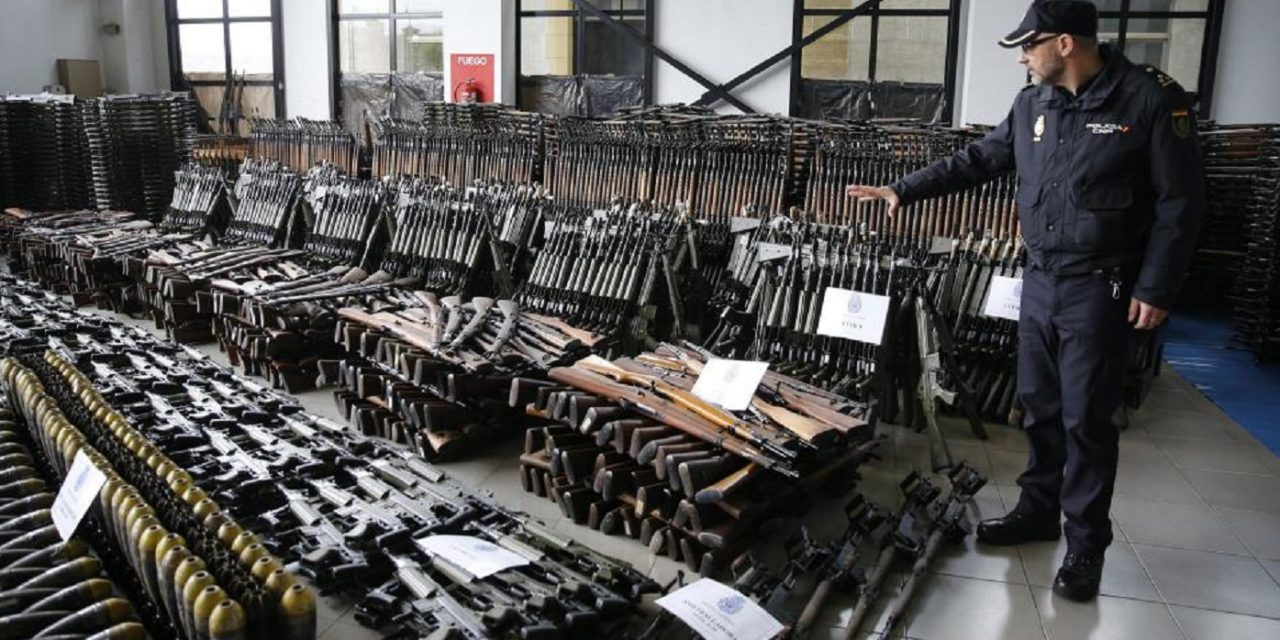 Massive weapons haul seized in Spain: 10,000 rifles, anti-aircraft guns intended for terrorists in Europe