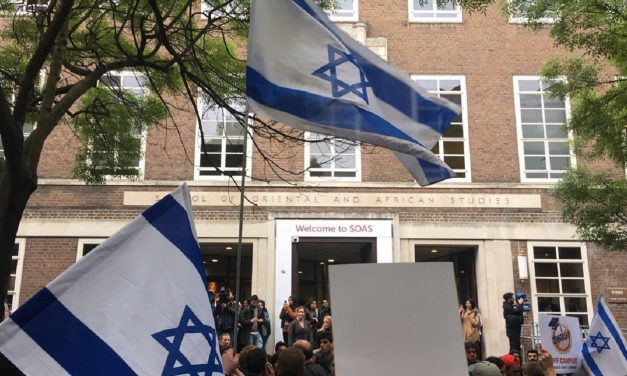 "Israeli Ambassador, Mark Regev, defies protests at SOAS: ""Israel isn't going anywhere"""