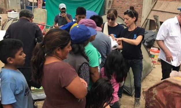 Israeli charity providing aid after devastating floods hit Peru
