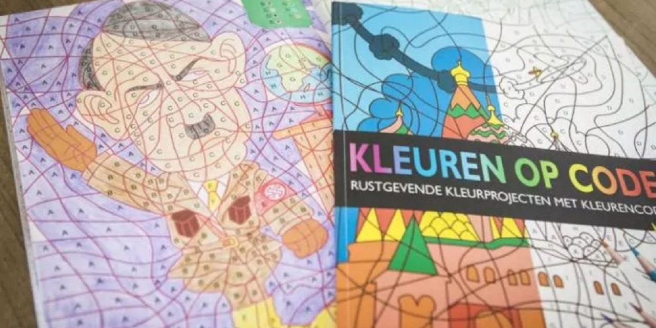 Dutch store withdraws children's colouring book featuring Adolf Hitler