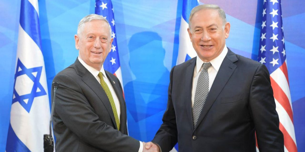 "Netanyahu hails ""great change"" in US foreign policy as he meets new Defense Secretary Mattis"